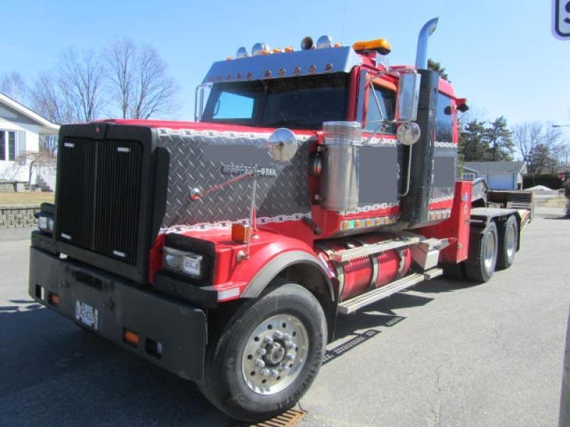 Camion Tracteur 10 roues couchette Western Star 4900FA 2007 En Vente chez EquipMtl