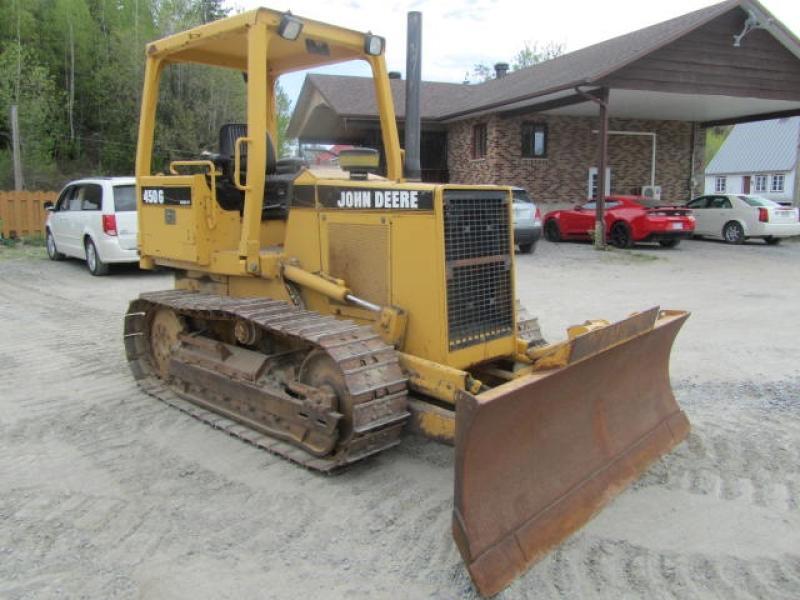 Tracteur à chaînes ( 0 à 9 tonnes) John Deere 450G 1996 En Vente chez EquipMtl