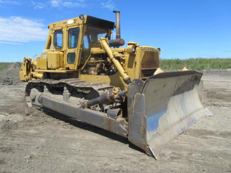 Tracteur à chaînes (21 tonnes et plus) Caterpillar D8K 1975 En Vente chez EquipMtl