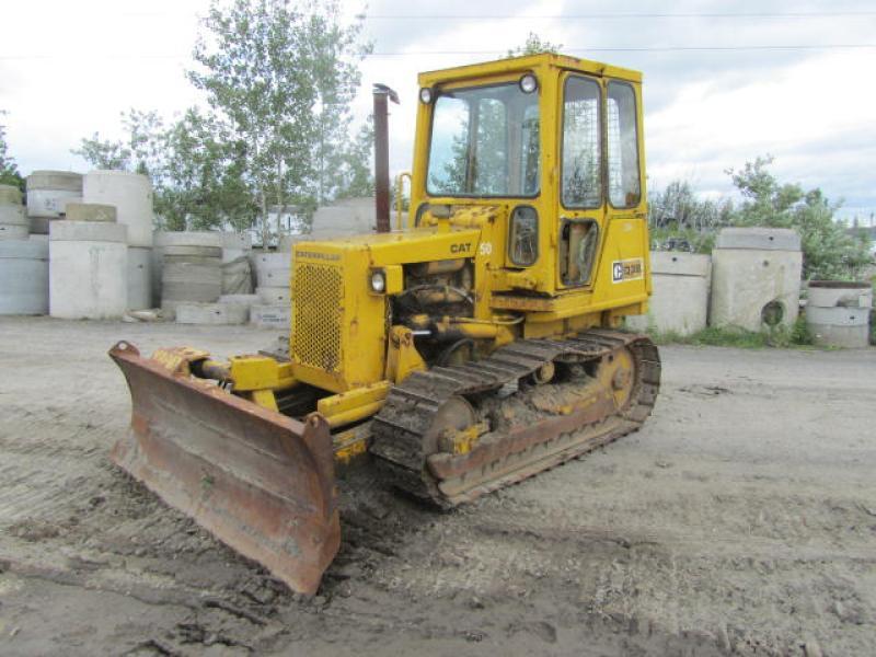 Tracteur à chaînes (10 à 20 tonnes) Caterpillar D3B 1980 En Vente chez EquipMtl