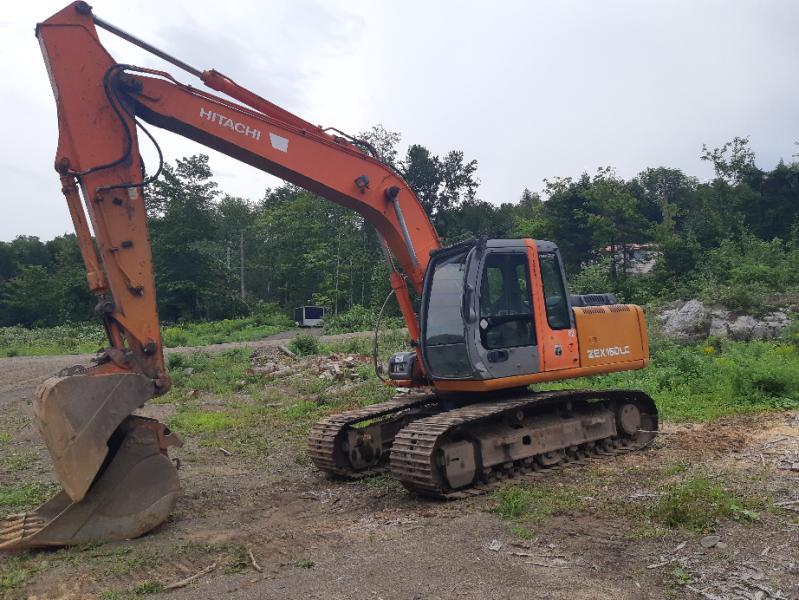 Excavatrice ( 9 à 19 tonnes) Hitachi ZX160LC 2006 En Vente chez EquipMtl