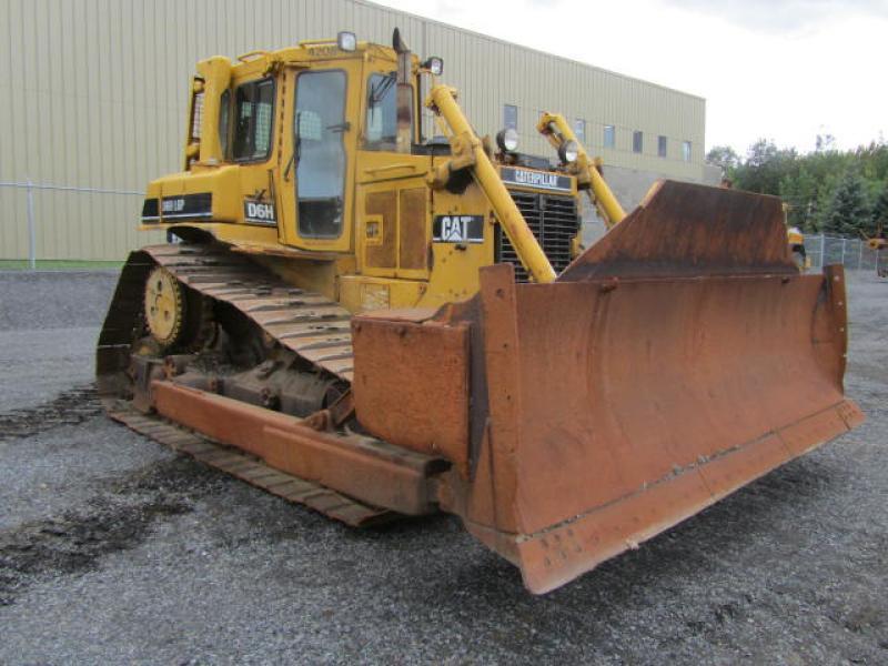 Tracteur à chaînes (10 à 20 tonnes) Caterpillar D6H LGP II 1991 En Vente chez EquipMtl