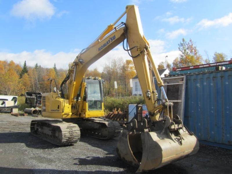 Excavatrice ( 9 à 19 tonnes) Komatsu PC138USLC-8 2012 En Vente chez EquipMtl