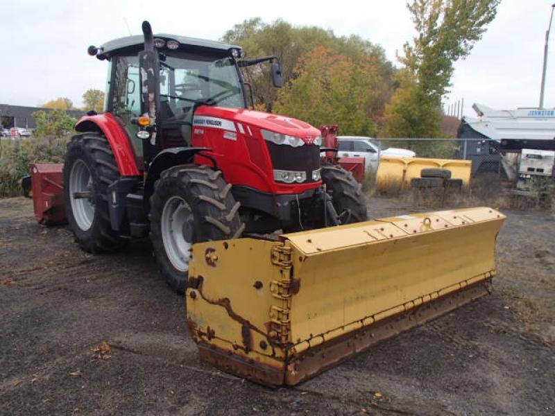 Tracteur agricole 4X4 Massey Ferguson 6614 2014 En Vente chez EquipMtl