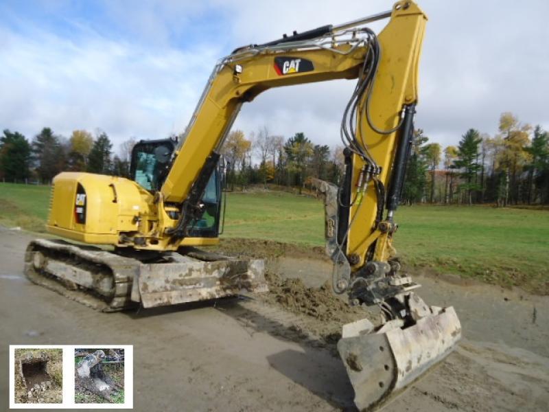 Excavatrice ( 8 tonnes et moins) Caterpillar 308E2 CR 2019 En Vente chez EquipMtl