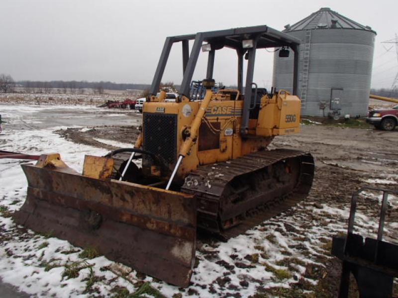 Tracteur à chaînes ( 0 à 9 tonnes) Case 550G LT 1997 En Vente chez EquipMtl