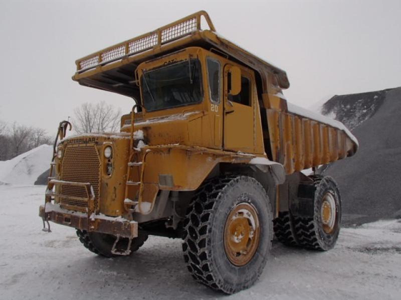 Camion rigide Caterpillar 769B 1976 En Vente chez EquipMtl