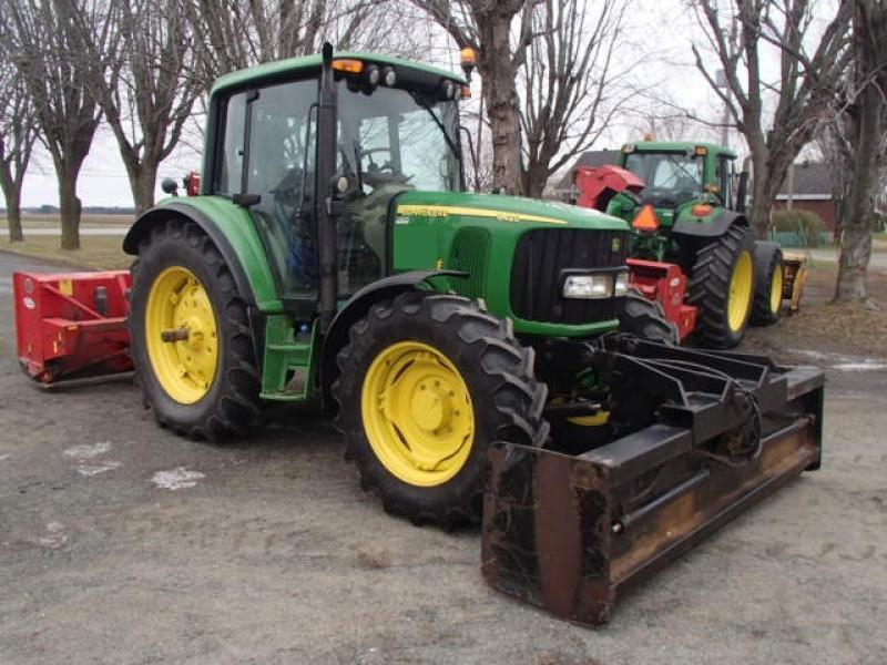 Tracteur à neige John Deere 6420 2006 En Vente chez EquipMtl
