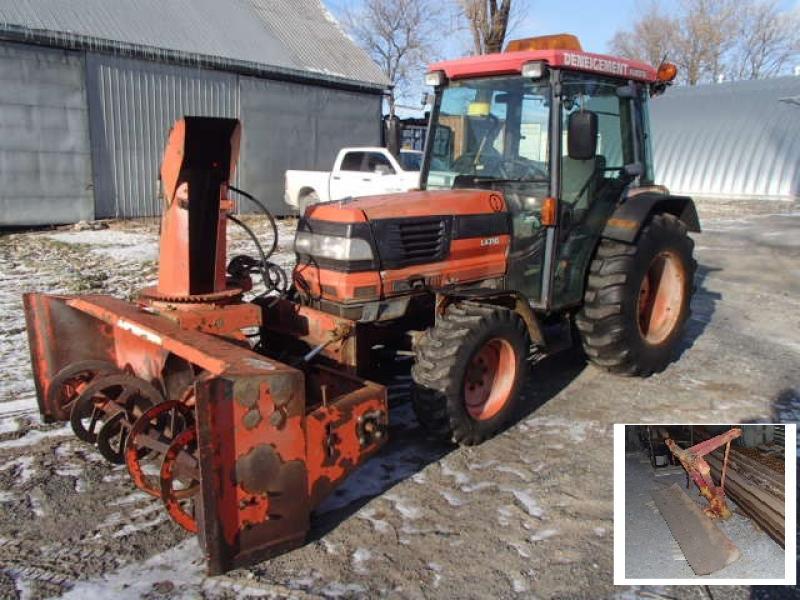 Tracteur à neige Kubota L4310D 2001 En Vente chez EquipMtl