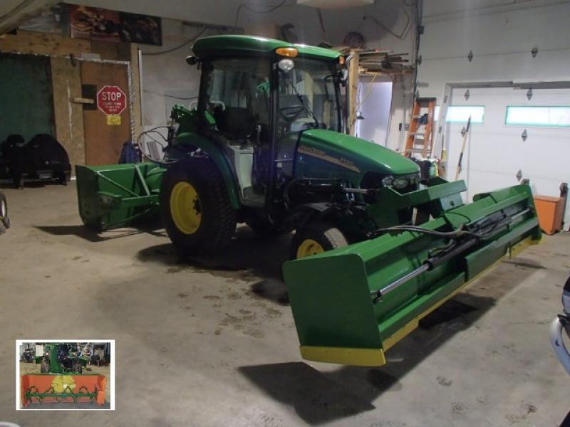 Tracteur agricole 4X4 John Deere 3720 2006 En Vente chez EquipMtl