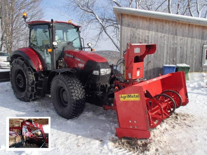 Tracteur à neige Case IH F105U 2016 En Vente chez EquipMtl