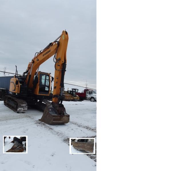 Excavatrice ( 9 à 19 tonnes) Hyundai HX145LCR 2016 En Vente chez EquipMtl