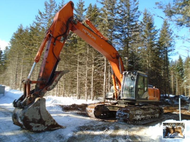 Excavatrice (20 à 39 tonnes) Hitachi ZX290LC-5N 2012 En Vente chez EquipMtl
