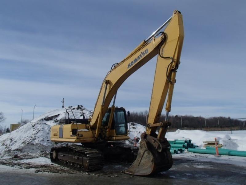 Excavatrice (20 à 39 tonnes) Komatsu PC300LC-8 2010 En Vente chez EquipMtl