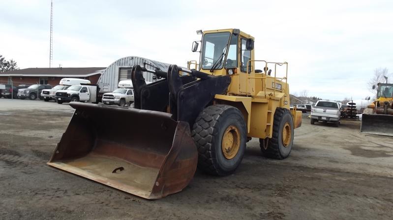 Chargeur sur roues (5 à 30 tonnes) Michigan L140 1988 En Vente chez EquipMtl