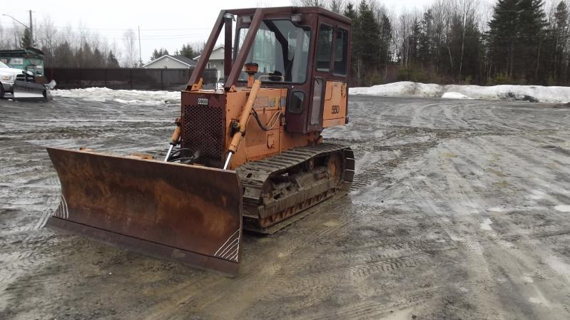 Tracteur à chaînes ( 0 à 15 tonnes) Case 550  1990 En Vente chez EquipMtl