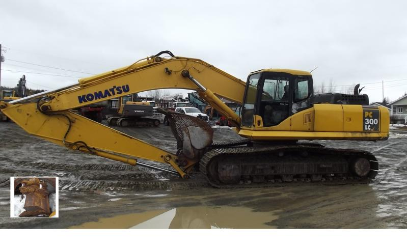 Excavatrice (20 à 39 tonnes) Komatsu PC300LC-7E 2006 En Vente chez EquipMtl