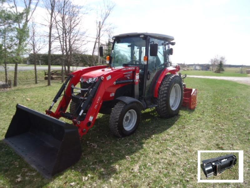 Tracteur agricole 4X4 Massey Ferguson 1760M 2019 En Vente chez EquipMtl