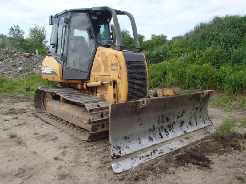 Tracteur à chaînes ( 0 à 15 tonnes) Case 650K 2006 En Vente chez EquipMtl