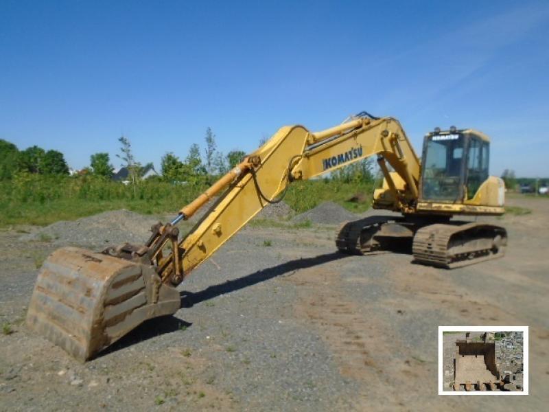 Excavatrice ( 9 à 19 tonnes) Komatsu PC160LC-7 2006 En Vente chez EquipMtl