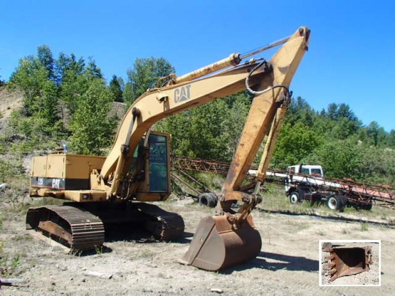 Excavatrice (20 à 39 tonnes) Caterpillar 225 1985 En Vente chez EquipMtl