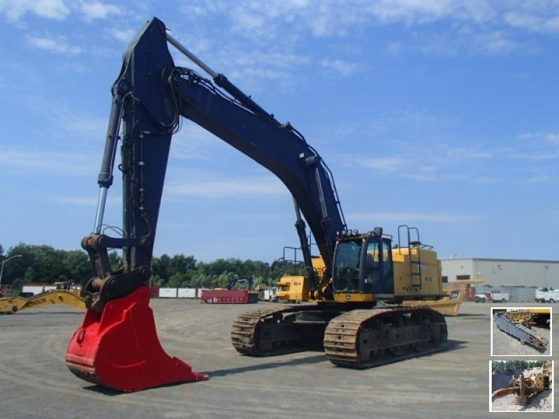 Excavatrice (40 tonnes et plus) John Deere 650D LC 2012 En Vente chez EquipMtl