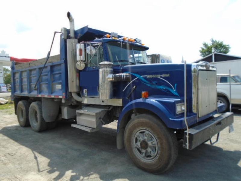 Camion dompeur 10 roues Western Star 4964-2 1987 En Vente chez EquipMtl