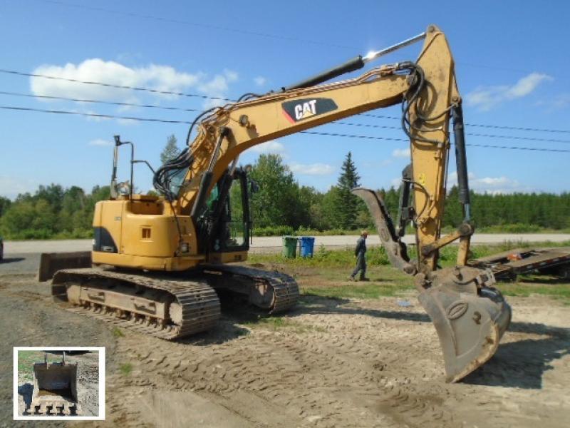 Excavatrice ( 9 à 19 tonnes) Caterpillar 314D LCR 2011 En Vente chez EquipMtl