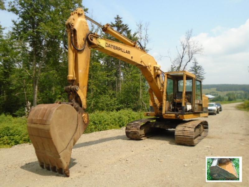 Excavatrice ( 9 à 19 tonnes) Caterpillar 215 1979 En Vente chez EquipMtl