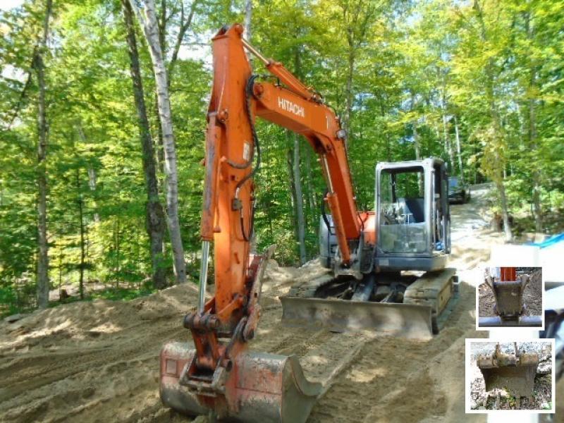Excavatrice ( 9 à 19 tonnes) Hitachi ZX85USB-3 2012 En Vente chez EquipMtl