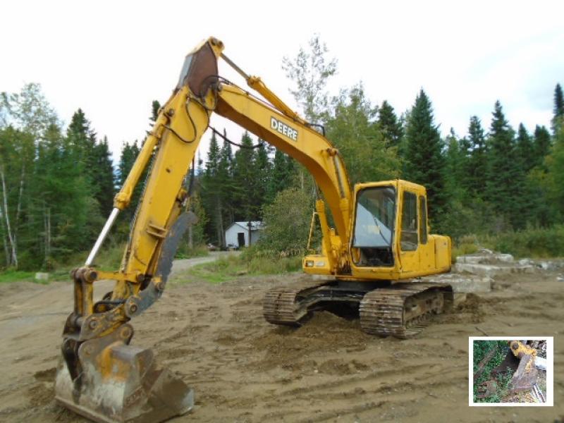 Excavatrice ( 9 à 19 tonnes) John Deere 490D 1989 En Vente chez EquipMtl